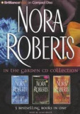 Nora Roberts in the Garden CD Collection: Blue Dahlia, Black Rose, Red Lily, Nora Roberts