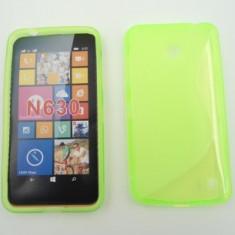 Toc silicon S-Case Nokia Lumia 630 / Nokia Lumia 635 Verde