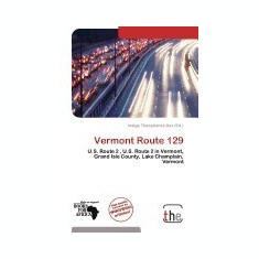 Vermont Route 129 - Carte in engleza