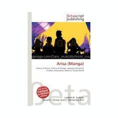 Arisa (Manga) - Carte in engleza
