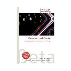 Demon Lord Dante - Carte in engleza