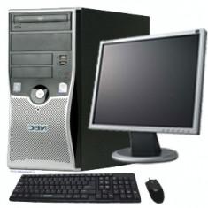 Pachet PC Nec ML470 Intel Core 2 Duo E7200, 2, 53Ghz, 2Gb DDR2, 80Gb HDD, 8127 - Sisteme desktop cu monitor Dell, 2501-3000Mhz, 40-99 GB