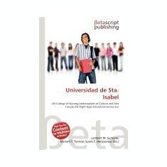 Universidad de Sta. Isabel - Carte in engleza