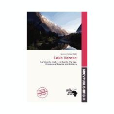 Lake Varese - Carte in engleza