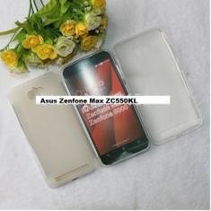 HUSA ASUS Zenfone Max ZC550KL silicon subtire transparenta 2016 - Husa Telefon