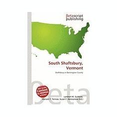 South Shaftsbury, Vermont - Carte in engleza