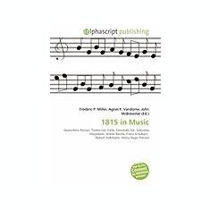 1815 in Music - Carte in engleza