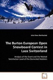 The Burton European Open Snowboard Contest in Laax Switzerland
