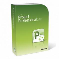 Microsoft Project Professional 2010 - in limba Romana sau Engleza - Aplicatie PC