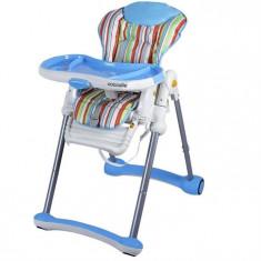 Scaun De Luat Masa Coccolle Spuntino Albastru - Masuta/scaun copii