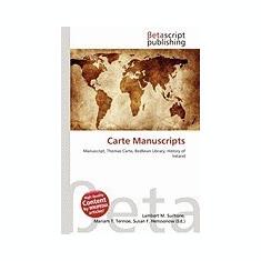 Carte Manuscripts - Carte in engleza