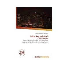 Lake Arrowhead, California - Carte in engleza