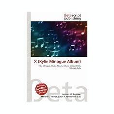 X (Kylie Minogue Album) - Carte in engleza