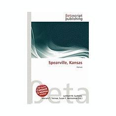 Spearville, Kansas - Carte in engleza