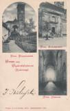 ALBA IULIA , SALUTARI DIN ALBA IULIA (GYULAFEHERVAR , KARLSBURG) CIRC. 1898, Circulata, Printata