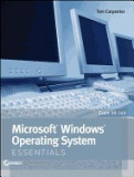 Microsoft Windows Operating System Essentials: Exam 98-349