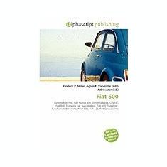Fiat 500 - Carte in engleza