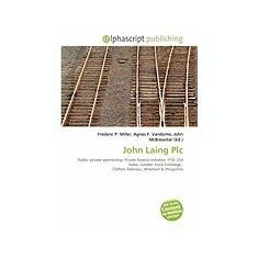 John Laing Plc - Carte in engleza
