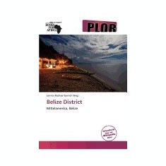 Belize District - Carte in engleza