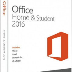 Microsoft Office Home and Student 2016 - in limba Romana sau Engleza - Solutii business