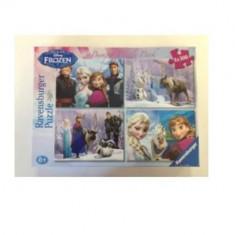 Puzzle Ravensburger Frozen 4 X 100 Piese