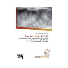 Messerschmitt Bf 109 - Carte in engleza
