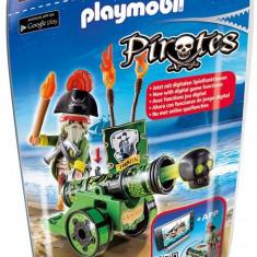 Capitanul Pirat Cu Tun Verde Playmobil