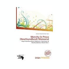 Monchy-Le-Preux (Newfoundland) Memorial - Carte in engleza