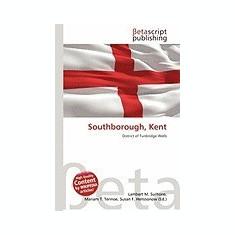 Southborough, Kent - Carte in engleza