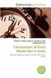 Comparison of Early World War II Tanks