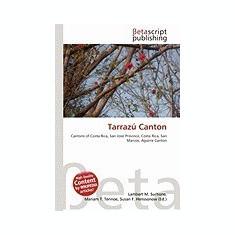 Tarraz Canton - Carte in engleza