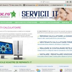 Vand site pentru afacere Reparatii Calculatoare - Service PC