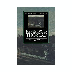 The Cambridge Companion to Henry David Thoreau - Carte in engleza