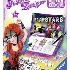 Set De Creatie - Fashion Designer - Popstar - Jocuri arta si creatie Ravensburger