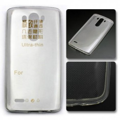Husa silicon Jelly Case Ultra Thin Orange Hiro / Alcatel Idol Mini OT-6012 Transparent - Husa Telefon
