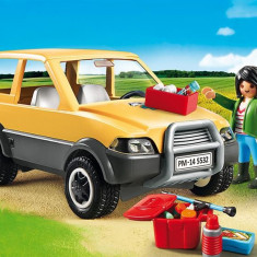 Veterinar Cu Masina Playmobil