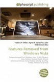 Features Removed from Windows Vista
