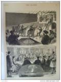 Grafica 1877  The Graphic Grecia rege regina print Wales vapor artificii elefant