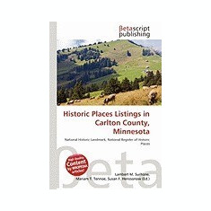 Historic Places Listings in Carlton County, Minnesota - Carte in engleza