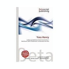 Yves Henry - Carte in engleza