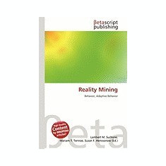 Reality Mining - Carte in engleza