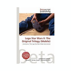 Lego Star Wars II: The Original Trilogy (Mobile) - Carte in engleza