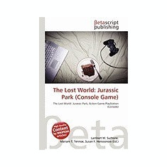 The Lost World: Jurassic Park (Console Game) - Carte in engleza