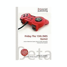 Friday the 13th (Nes Game) - Carte in engleza