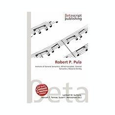 Robert P. Pula - Carte in engleza