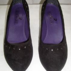 Pantofi dama eleganti din catifea Italmart marimea 41 - Made in Italy Reducere - Pantof dama Made in Italia, Culoare: Din imagine, Textil, Cu talpa joasa