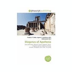 Diogenes of Apollonia - Carte in engleza
