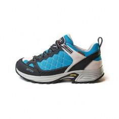 Pantofi pentru femei Lytos Cosmic Turquse (LYT-COS-TUR) - Pantof dama, Culoare: Albastru, Marime: 35, 38, Cu talpa joasa