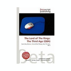 The Lord of the Rings: The Third Age (Gba) - Carte in engleza