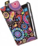 Cumpara ieftin Toc FlipCase Jelly Fish Sony Xperia J